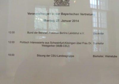Bund Der Berliner Landshut 2014 Berlinreise#001